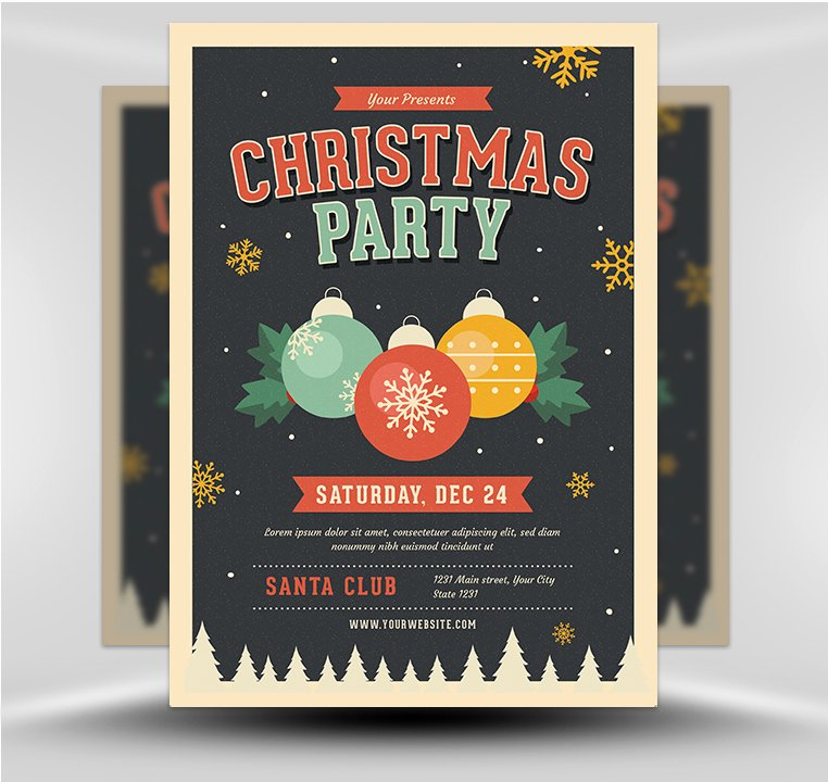 Christmas Flyer Template Free Best Of Jingle Bells Christmas Party Flyer Template Flyerheroes