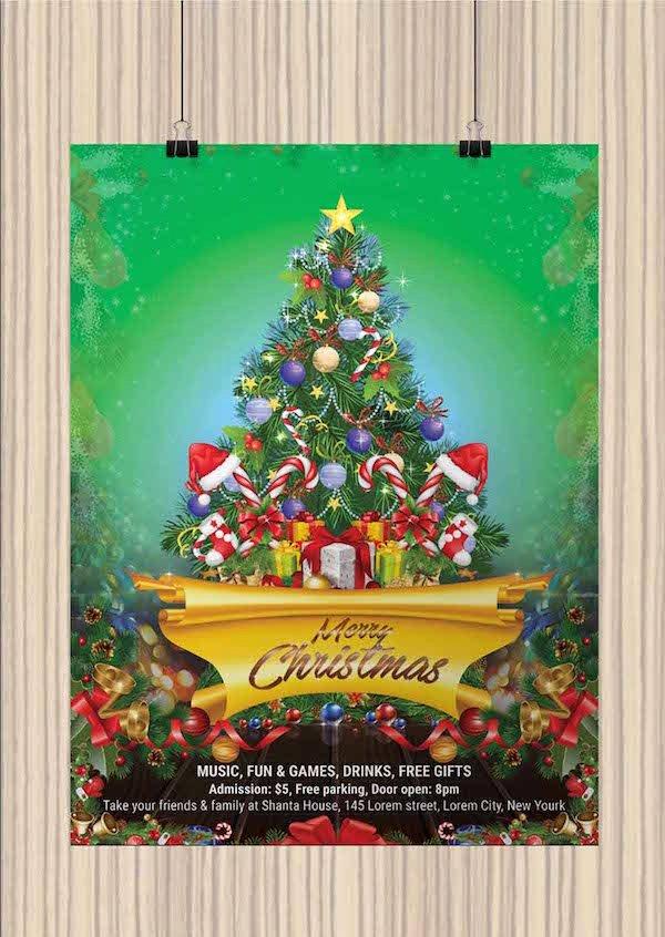 Christmas Flyer Template Free Inspirational 25 Best Free Christmas Flyer Templates Dzineflip