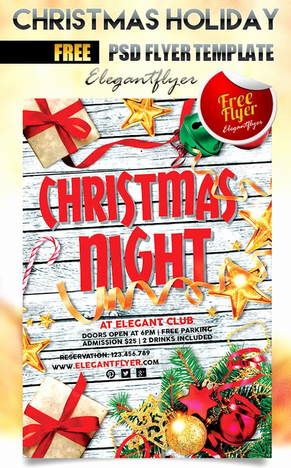 Christmas Flyer Template Free Lovely 25 Best Free Christmas Flyer Templates Dzineflip