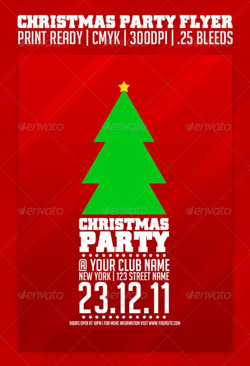 Christmas Party Flyer Template Fresh 30 Stunning Party Flyer Templates Psd