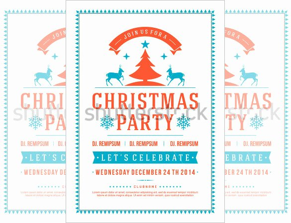 Christmas Party Flyer Template Lovely 27 Holiday Party Flyer Templates Psd
