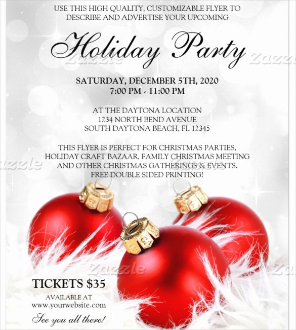Christmas Party Flyer Template Luxury 55 Business Flyer Templates Psd Ai Indesign