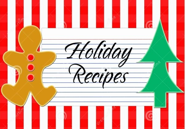 Christmas Recipe Card Template Best Of 17 Recipe Card Templates Free Psd Word Pdf Eps