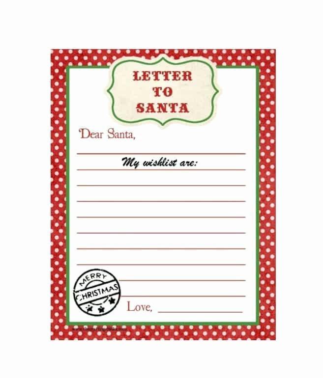 Christmas Wish List Template New 43 Printable Christmas Wish List Templates & Ideas