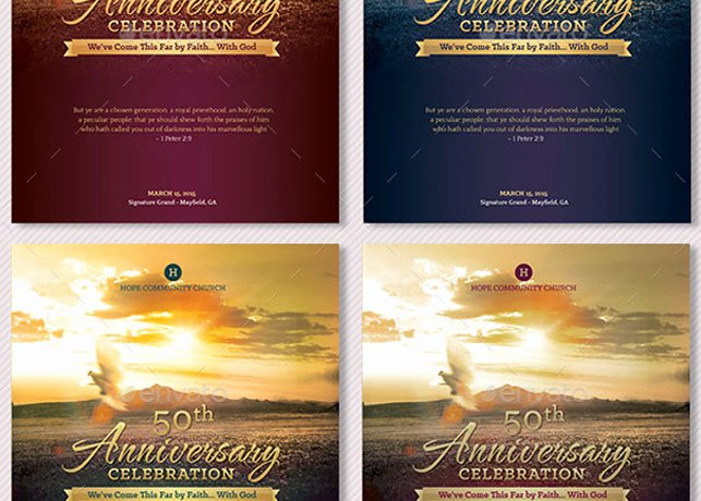 Church Anniversary Program Template Beautiful Church Anniversary Program