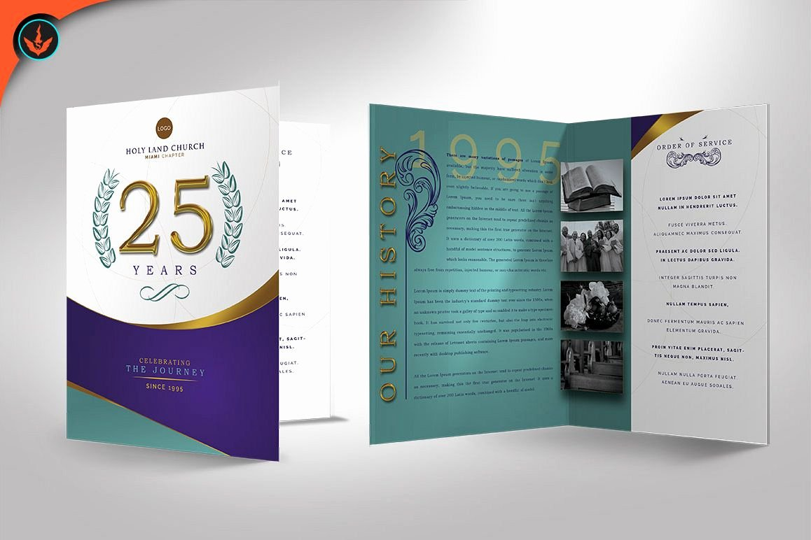Church Anniversary Program Template Best Of Regal Church Anniversary Program S