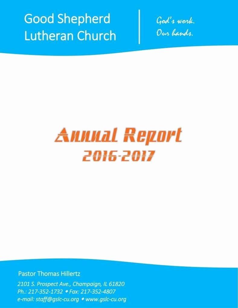 Church Annual Report Template Unique 10 Church Report Templates Pdf Doc