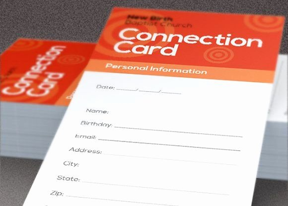 Church Connection Card Template Best Of 10 Best Pew Cards Images On Pinterest