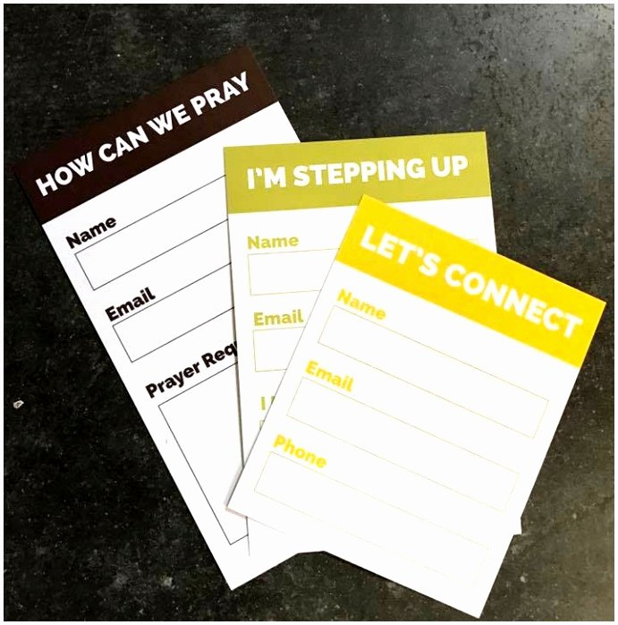 Church Connection Card Template Unique 9 Free Church Visitor Card Template Euyct