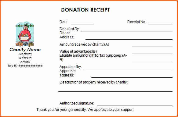 Church Donation Receipt Template Beautiful 7 Church Donation Receipt Template Bud Template Letter