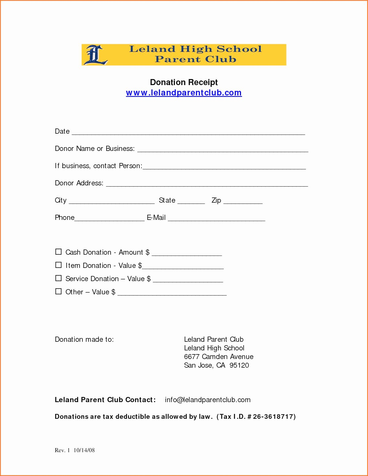 Church Donation Receipt Template Elegant Church Donation Receipt Template 0 Colorium Laboratorium