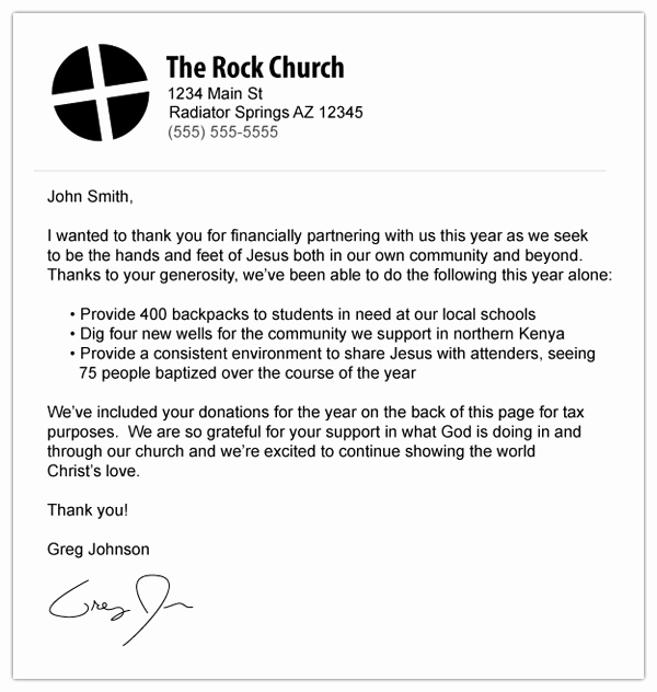 Church Donation Receipt Template Inspirational How to Make An Awesome or Terrible End Of Year Donation