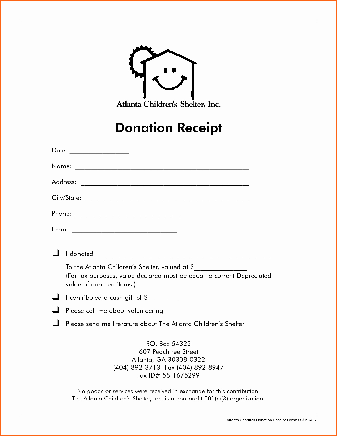 Church Donation Receipt Template Lovely 7 Church Donation Receipt Template Bud Template Letter
