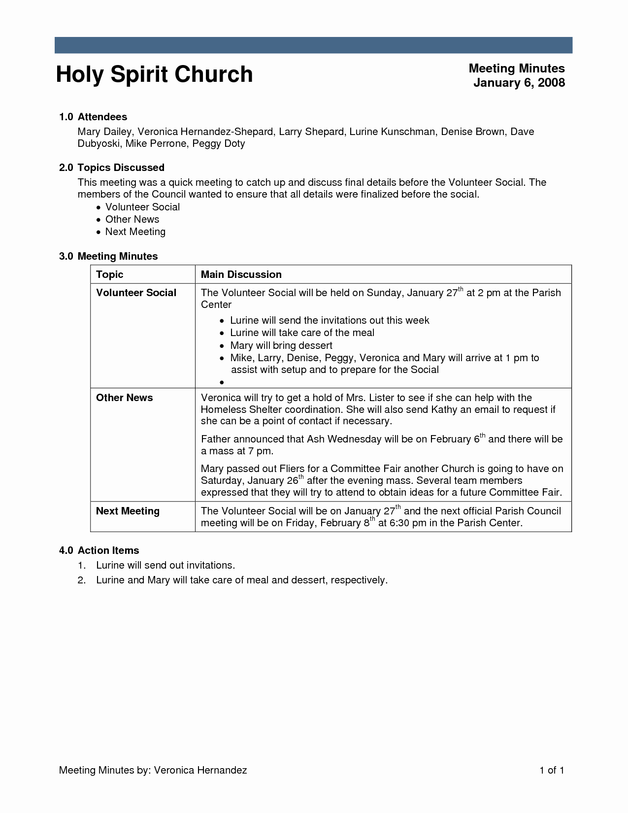 Church Meeting Minutes Template Unique Best S Of Sample Church Meeting Minutes Template