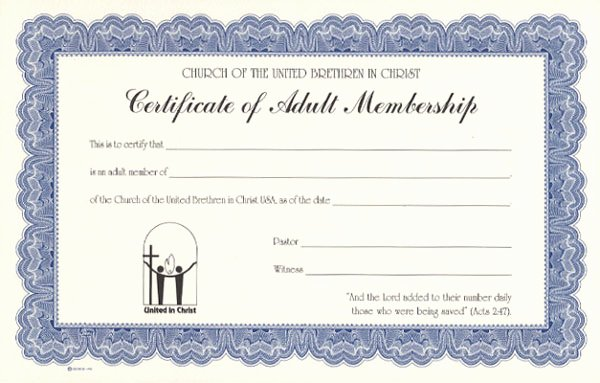 Church Membership Certificate Template Best Of Best S Of Church Membership Certificate Template