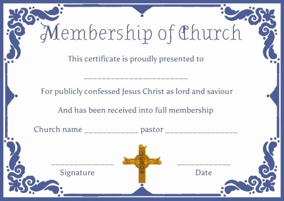 Church Membership Certificate Template Fresh Best 25 Free Certificate Templates Ideas On Pinterest