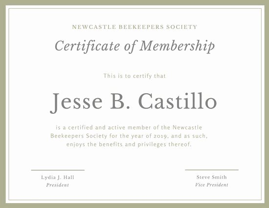 Church Membership Certificate Template Lovely Customize 64 Membership Certificate Templates Online Canva