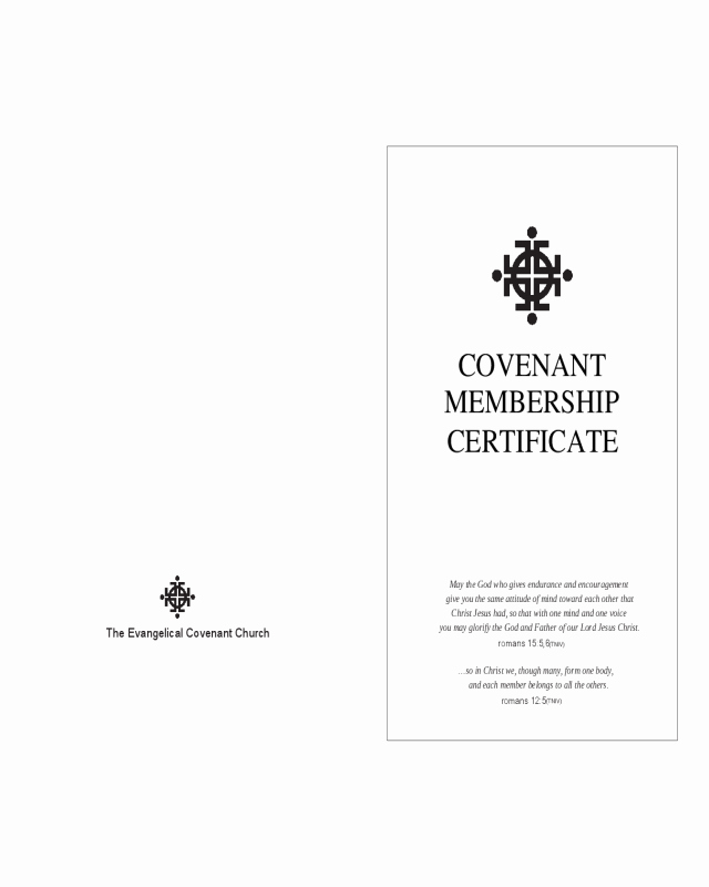 Church Membership Certificate Template Unique 2019 Membership Certificate Fillable Printable Pdf