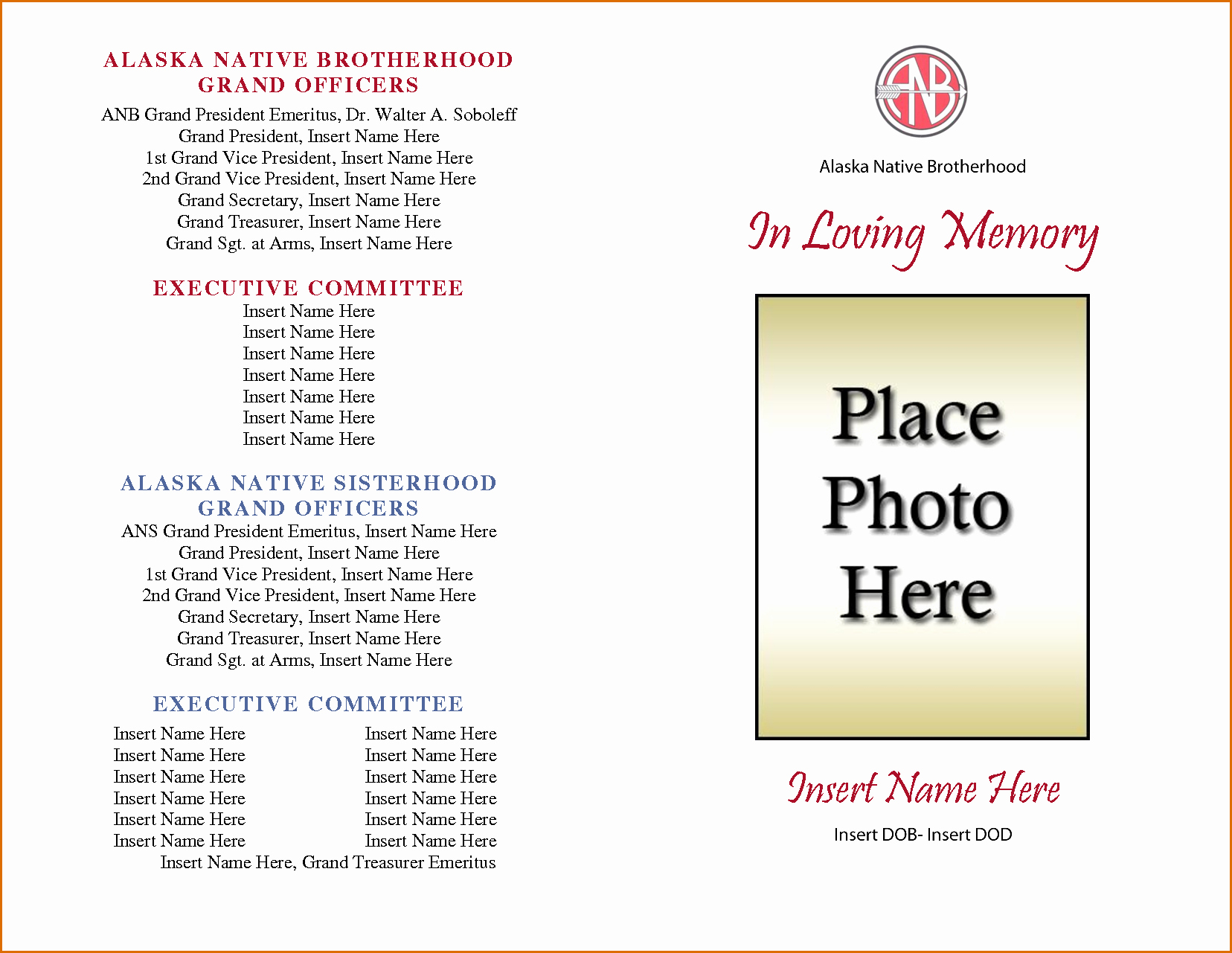 Church Program Template Word Awesome New Free Printable Church Program Templates
