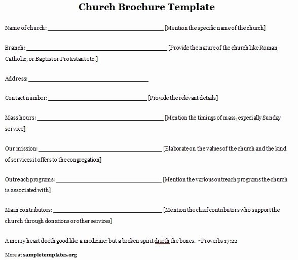 Church Program Template Word Fresh Free Printable Church Anniversary Program