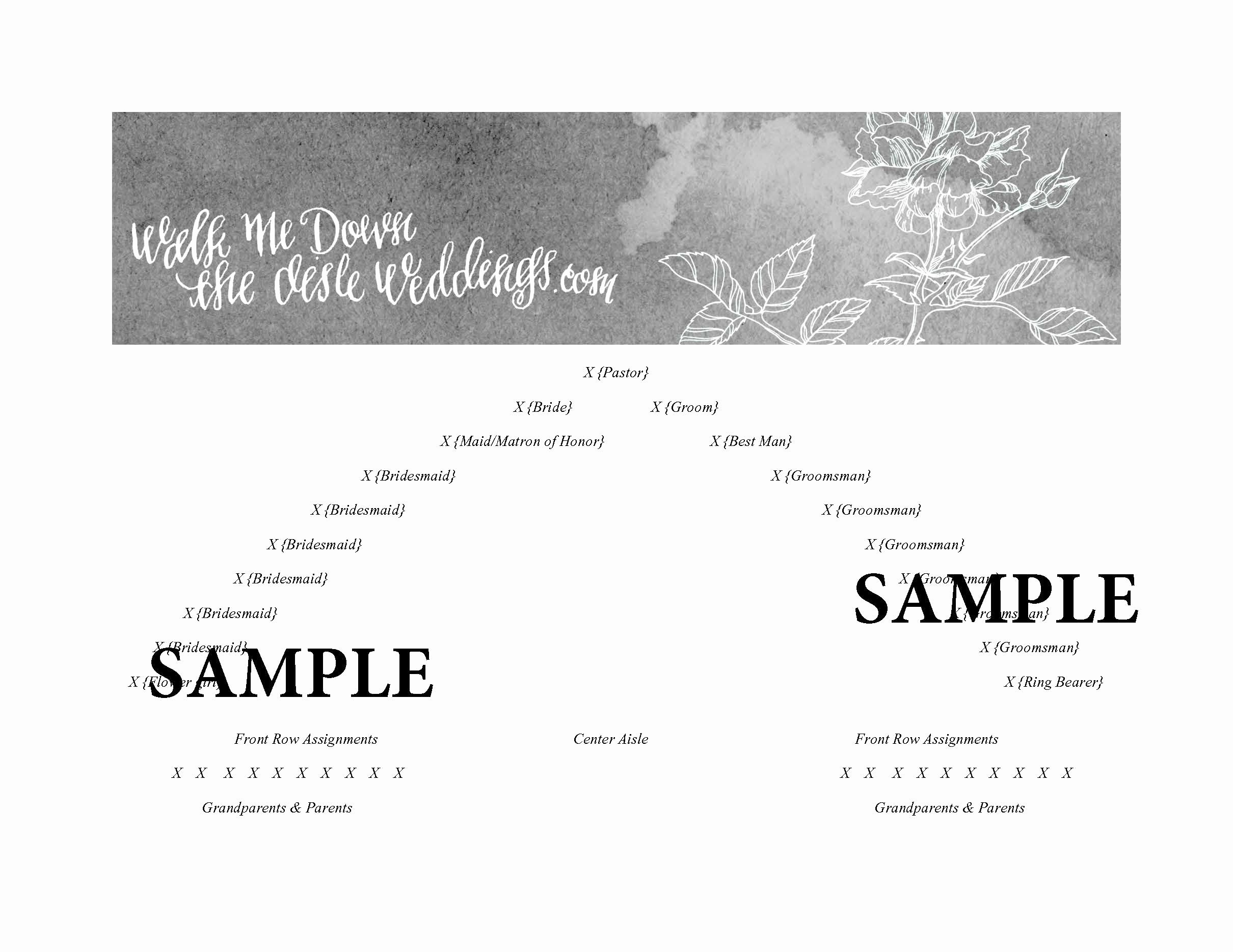 Church Seating Chart Template Best Of Church Wedding Seating Plan Template