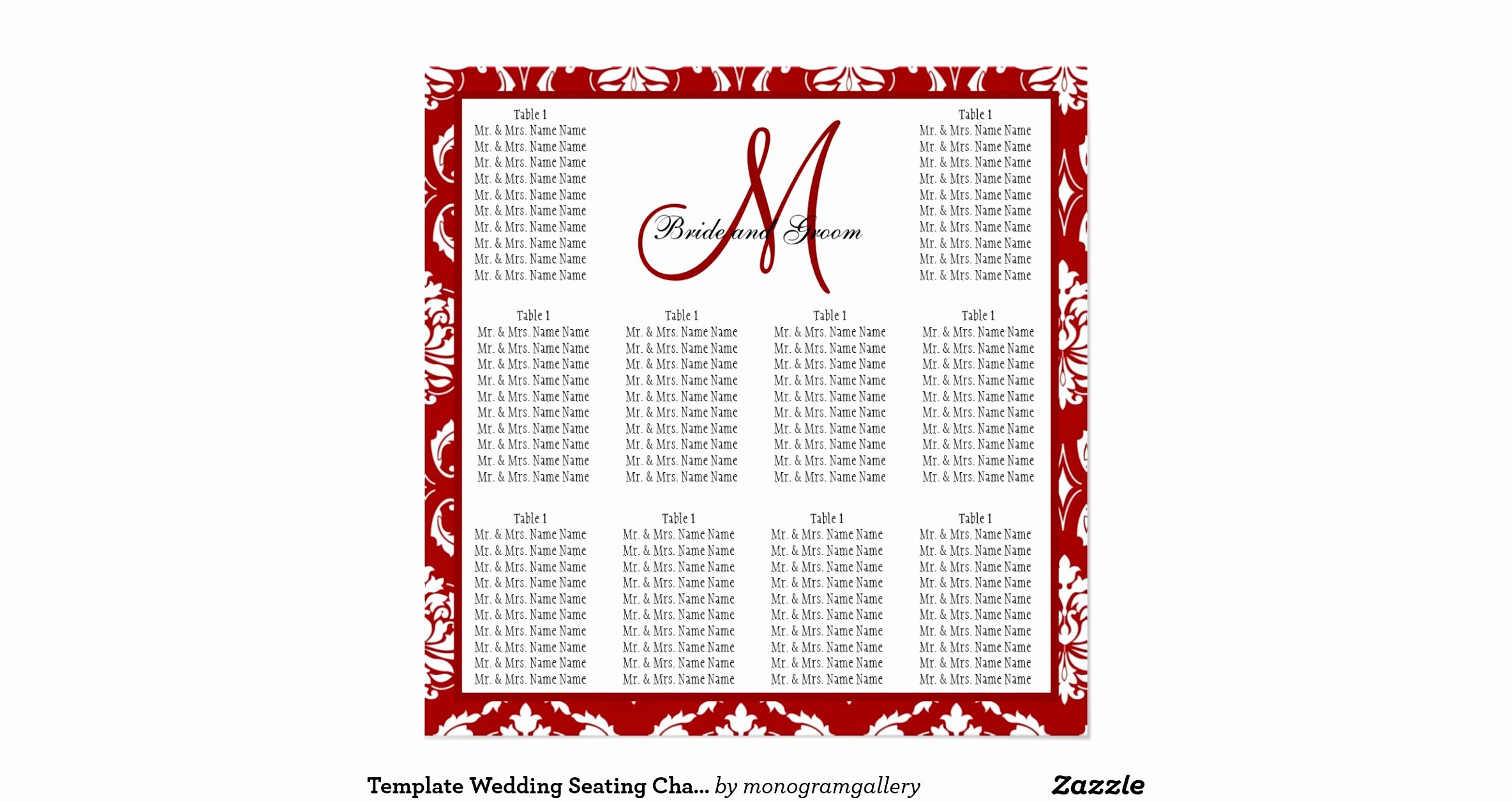 Church Seating Chart Template Unique Church Wedding Seating Plan Template