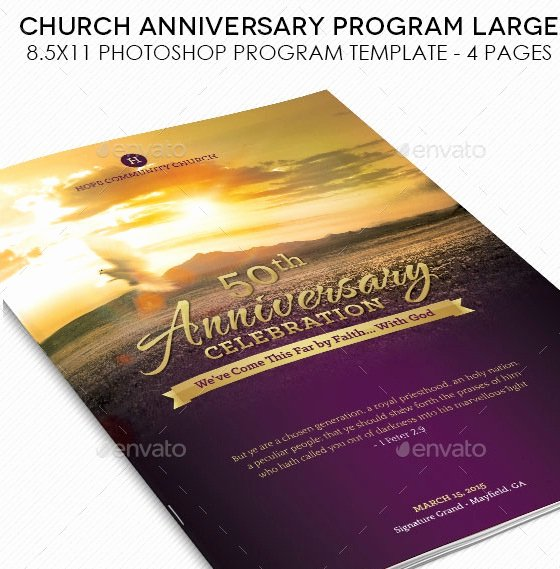 Church Service Program Template Awesome 20 Nice Church Brochure Templates