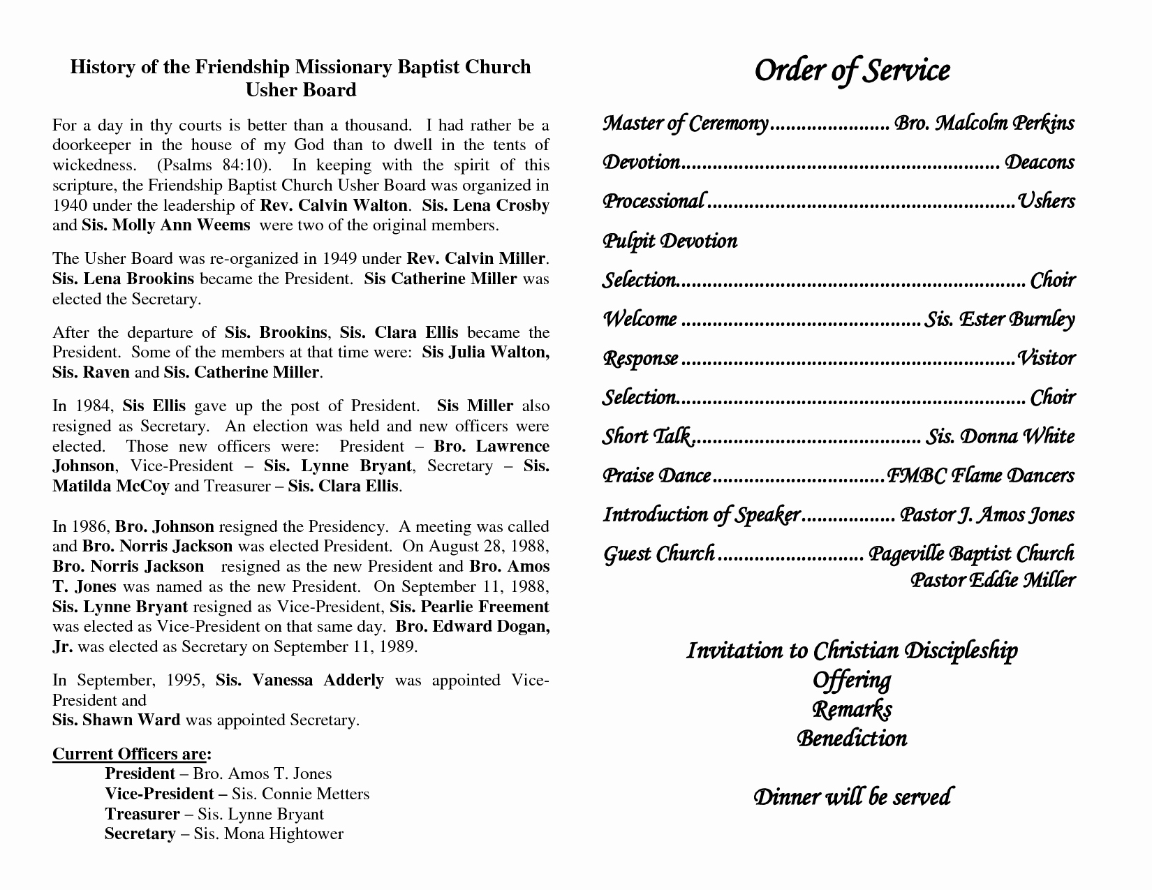 Church Service Program Template Fresh Best S Of Church Programs order Service Church