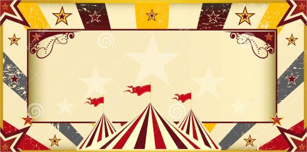 Circus Invitation Template Free Elegant 9 Circus Invitation Templates Free Editable Psd Ai
