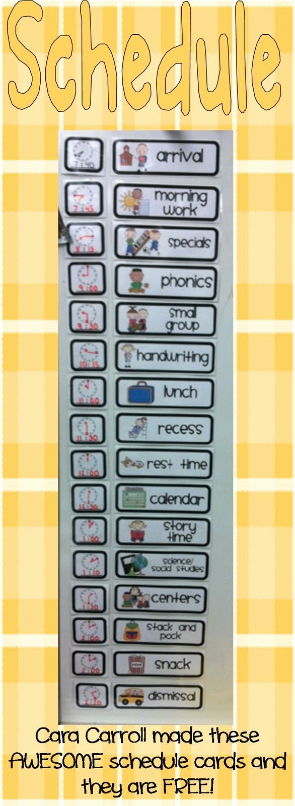 Classroom Daily Schedule Template Elegant Best 25 Visual Schedule Autism Ideas On Pinterest