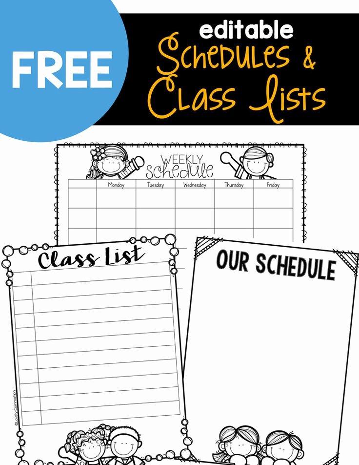 Classroom Daily Schedule Template Lovely Best 25 Kindergarten Schedule Ideas On Pinterest