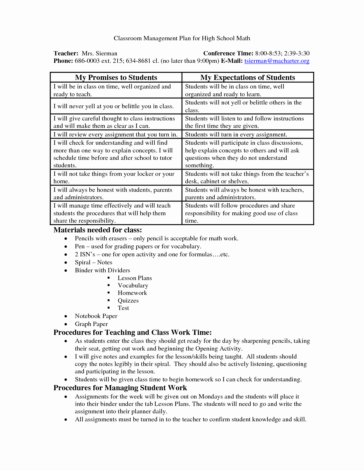 Classroom Management Plan Template Luxury Ideas 25 Pre School Classroom Management Plan