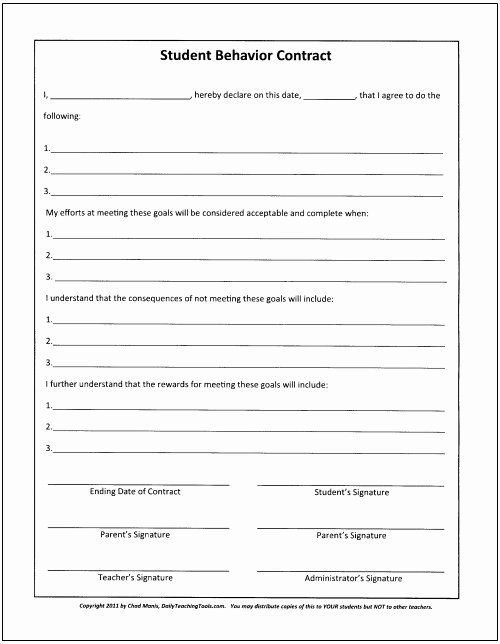 Classroom Management Plan Template New Behavior Plan Template