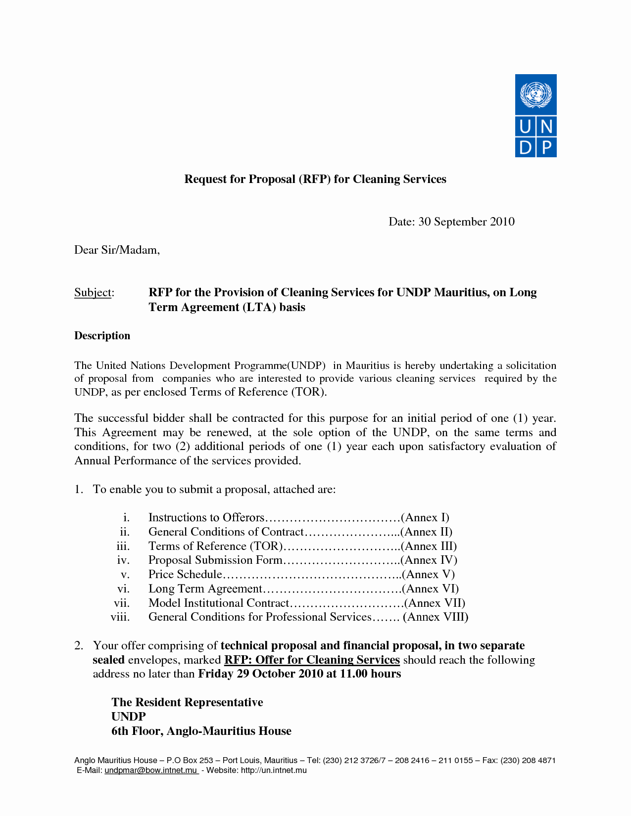 Cleaning Bid Proposal Template New 10 Best Of Mercial Cleaning Services Proposal