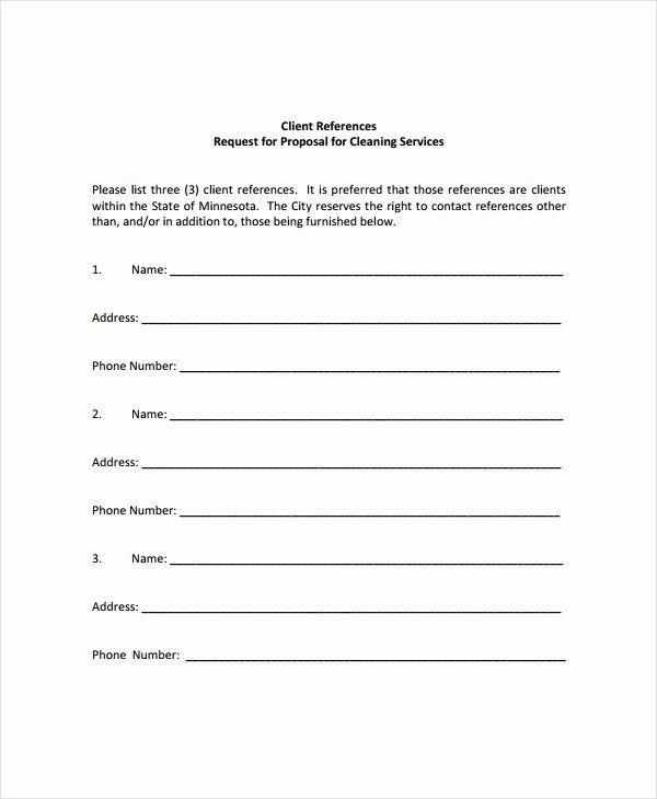 Cleaning Bid Proposal Template New 14 Cleaning Proposal Templates Word Pdf