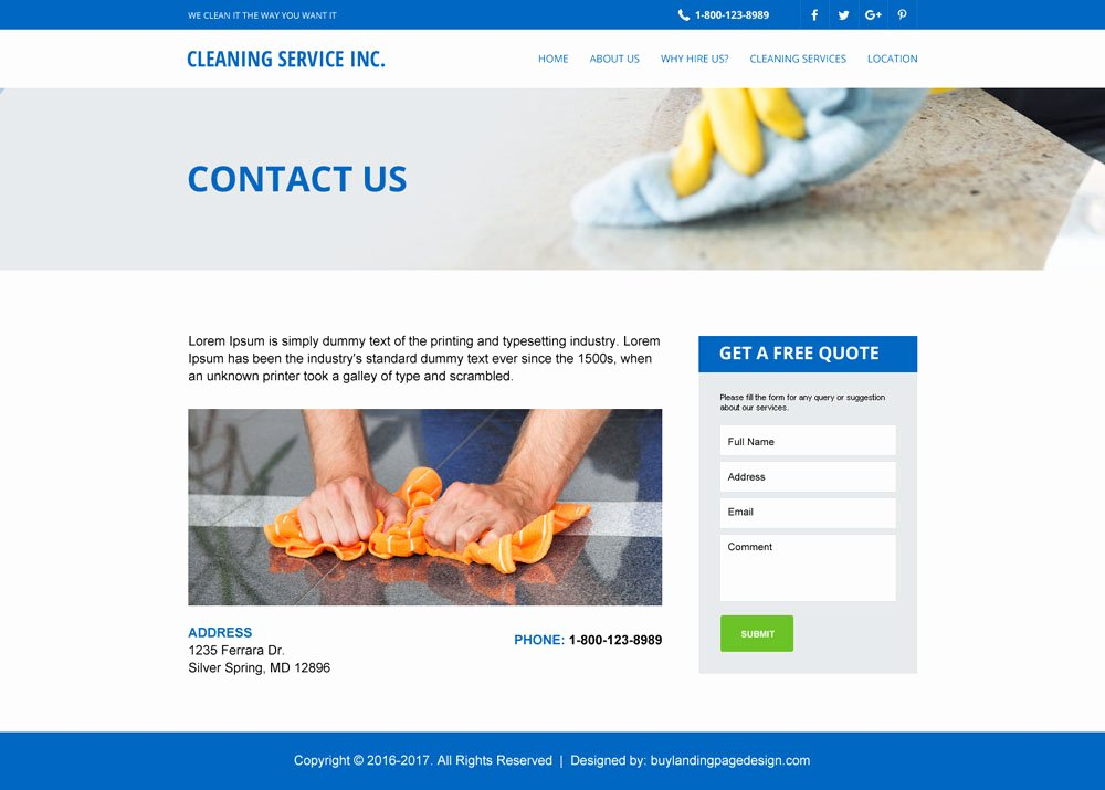 Cleaning Company Website Template Best Of Website Templates Flat Off Special Discount Offer