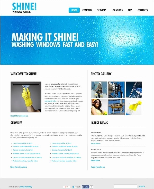 Cleaning Company Website Template New Cleaning Pany Website Templates Sparkling solution