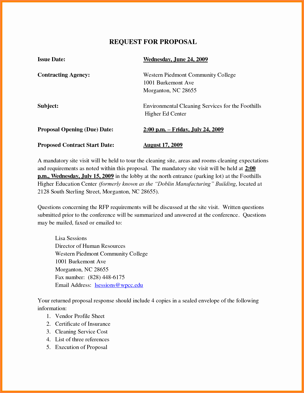 Cleaning Proposal Template Pdf Awesome 2 Janitorial Business Proposal Sample