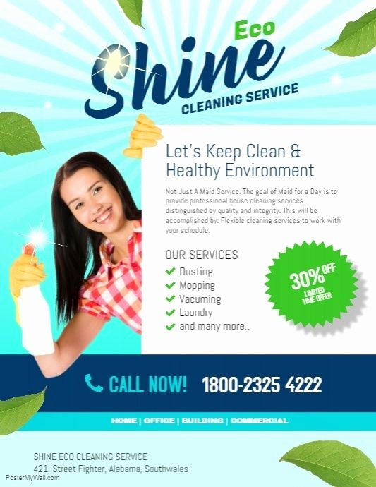 Cleaning Service Flyer Template Beautiful Cleaning Service Flyer Template Dni America Flyer Gallery