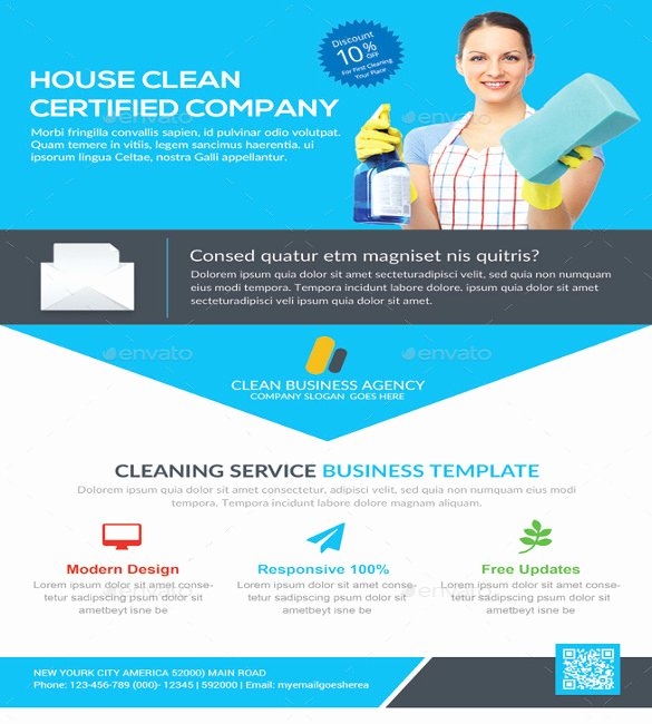 Cleaning Service Flyer Template Beautiful House Cleaning Flyer Template – 20 Free Psd format