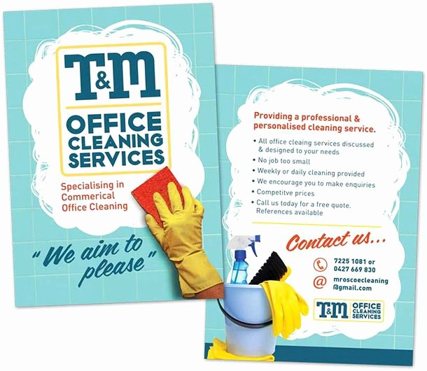 Cleaning Service Flyer Template Best Of 15 Cool Cleaning Service Flyers 10 Brochures