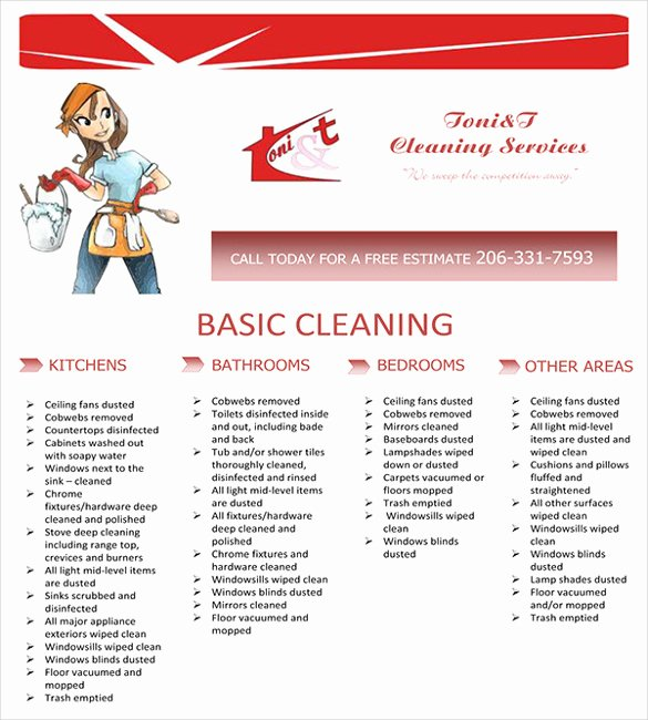 Cleaning Service Flyer Template Lovely House Cleaning Flyer Template 17 Psd format Download