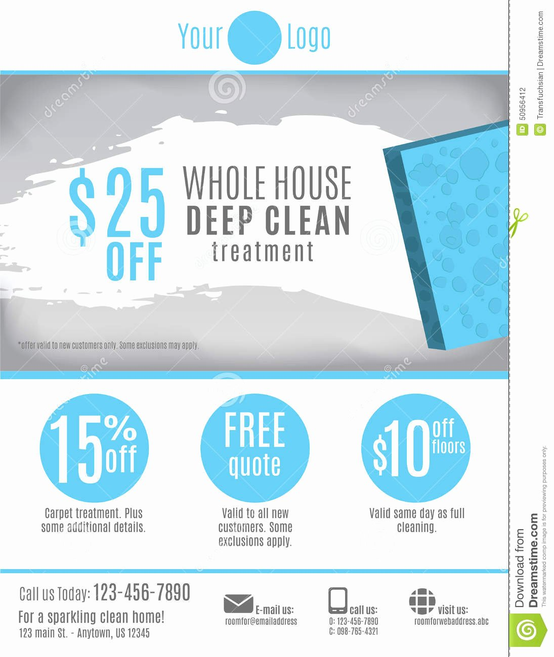 Cleaning Service Template Free Awesome Mercial Cleaning Flyer Templates Professional