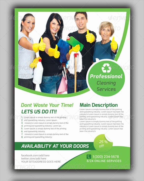 Cleaning Service Template Free Beautiful House Cleaning Services Flyer Templates Yourweek
