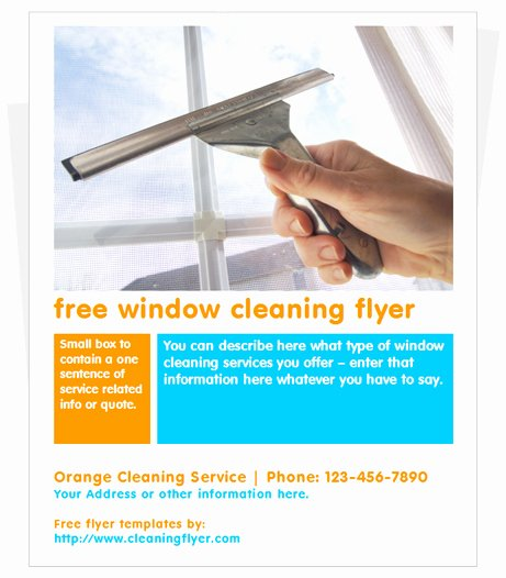 Cleaning Service Template Free Fresh Free Window Cleaning Flyer Template by Cleaningflyer