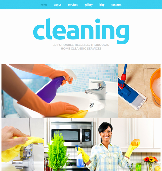 Cleaning Services Website Template Awesome 7 Of the Best Joomla Templates for Cleaning Panies – Down