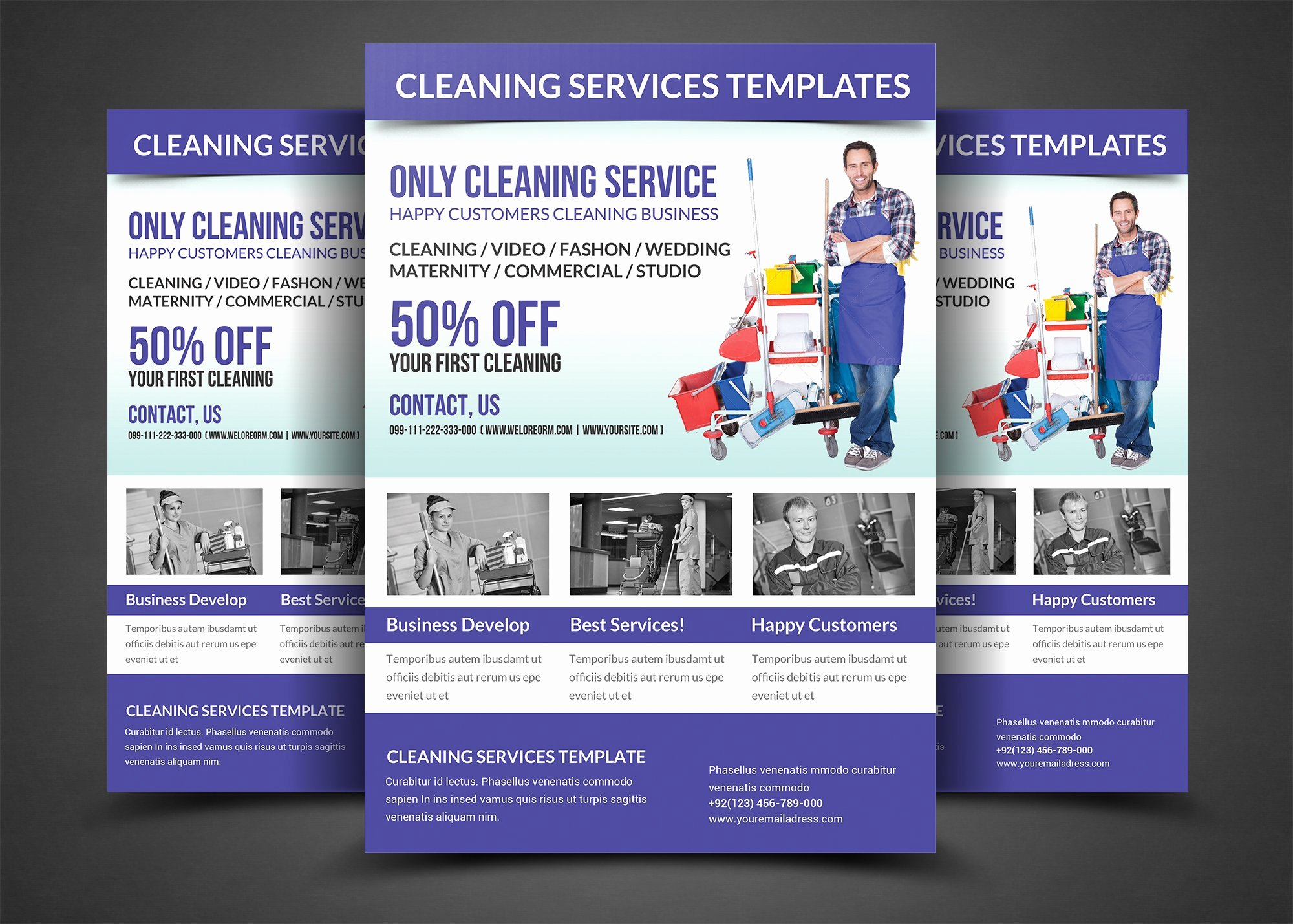 Cleaning Services Website Template Best Of Cleaning Services Flyer Template Flyer Templates