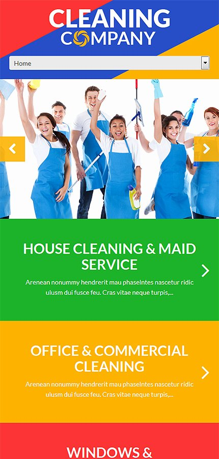 Cleaning Services Website Template Elegant Cleaning Services Wordpress theme