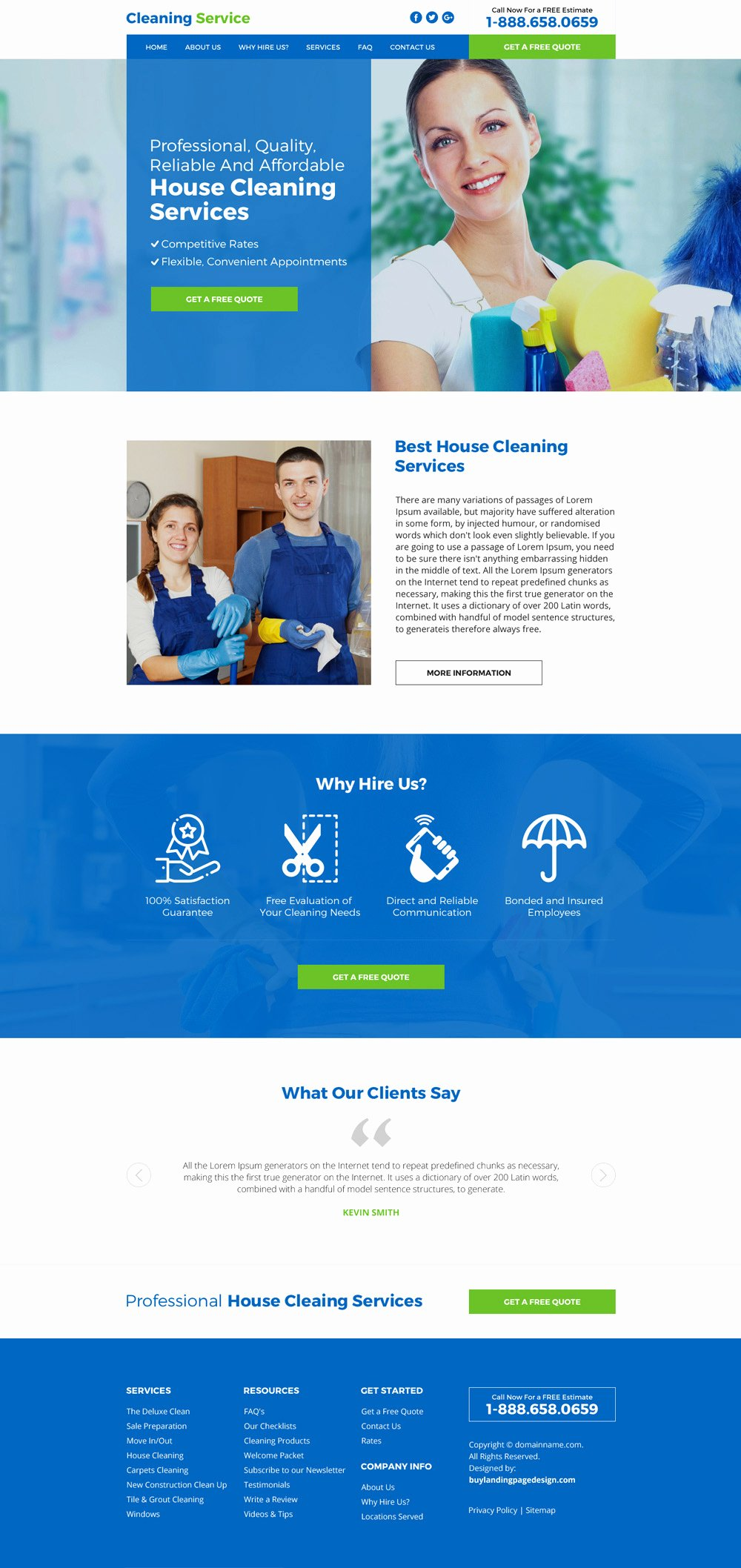 Cleaning Services Website Template Elegant House Cleaning Service Website Design 05