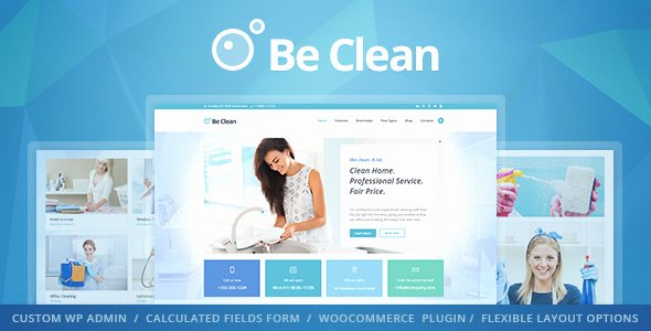 Cleaning Services Website Template Inspirational Be Clean Cleaning Pany Maid Service & Laundry